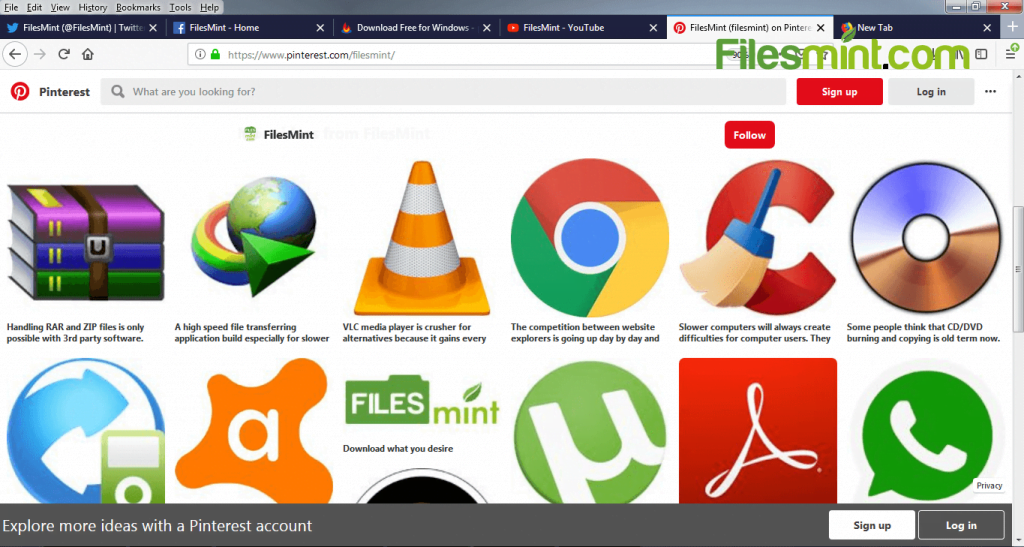 Firefox Screenshot PNG