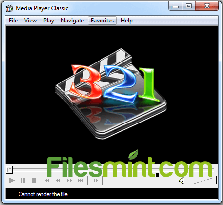 Media Player Classic Screenshot PNG