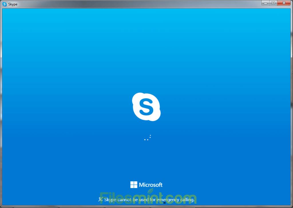 Skype Screenshot PNG