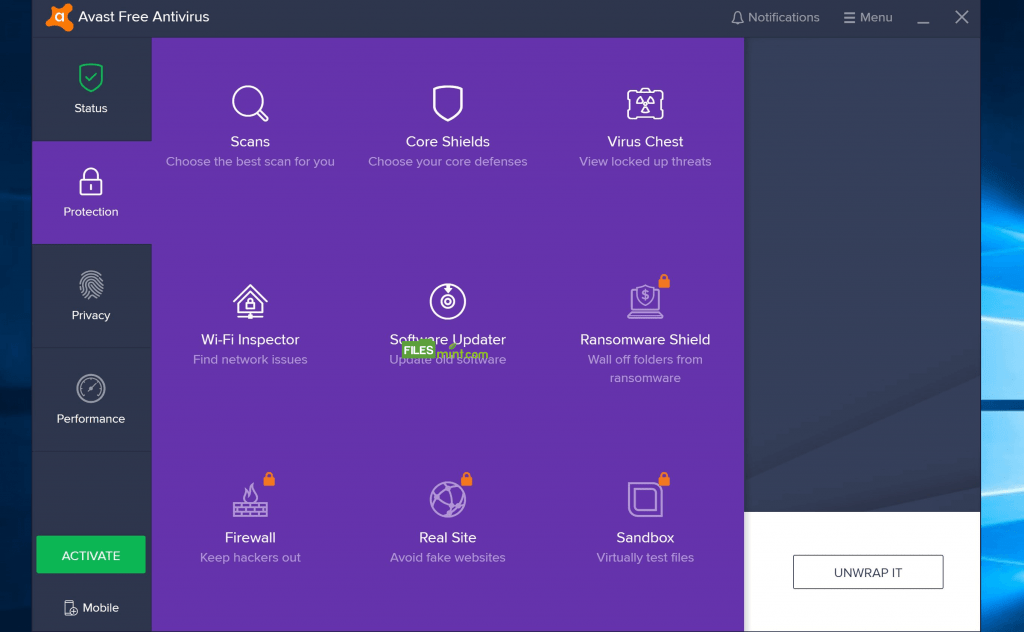 Avast Free Antivirus Screenshot 2