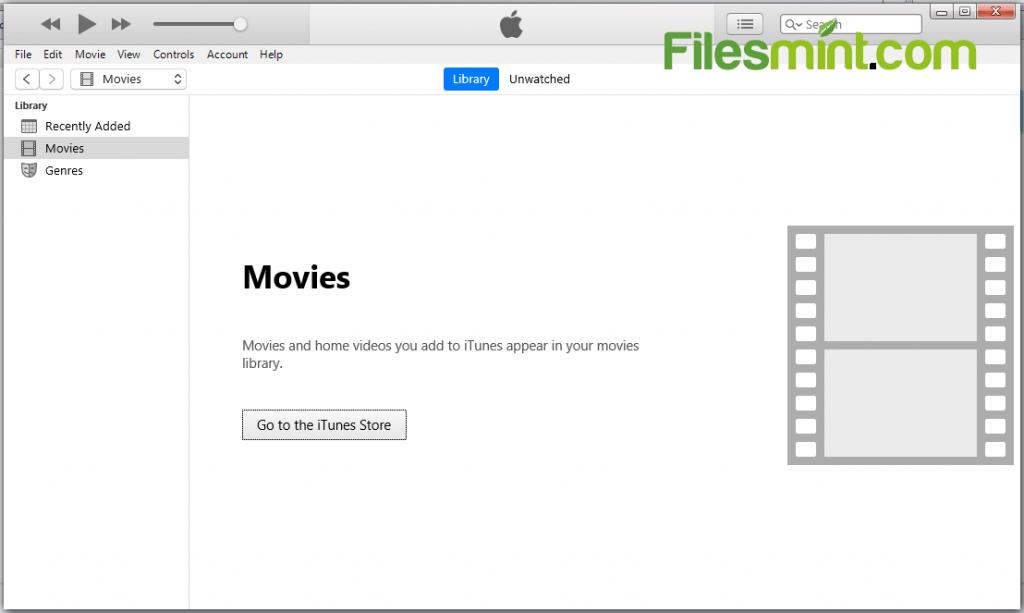 iTunes for PC Screenshot
