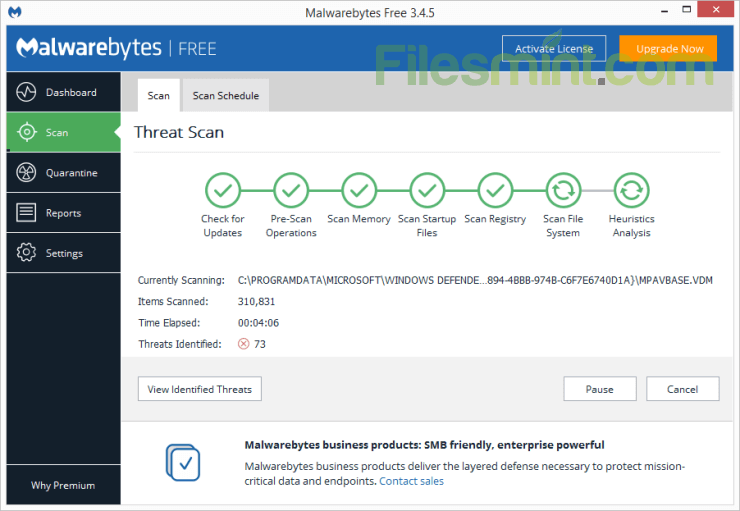 Malwarebytes Screenshot PNG
