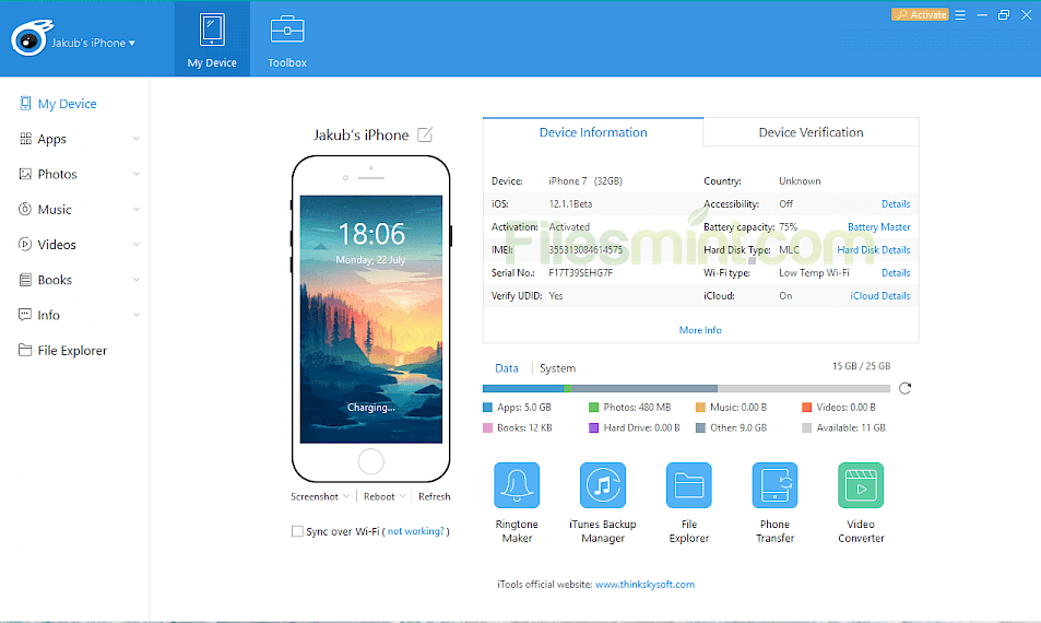 iTools Screenshot