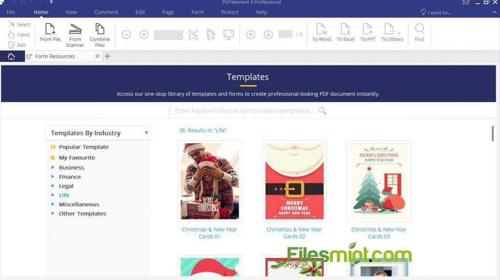 Screenshot of Wondershare PDFelement