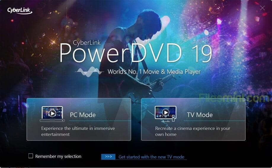 Cyberlink PowerDVD Screenshot