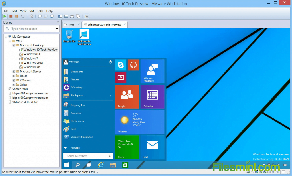 VMware Workstation Pro Screenshot