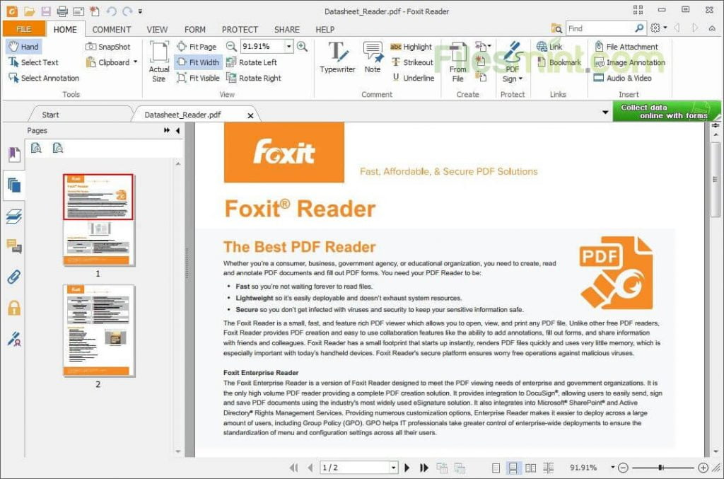 Foxit Reader PDF Viewer