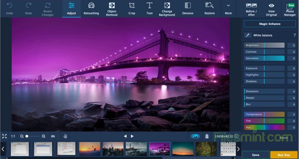 Movavi Photo Editor Screenshot