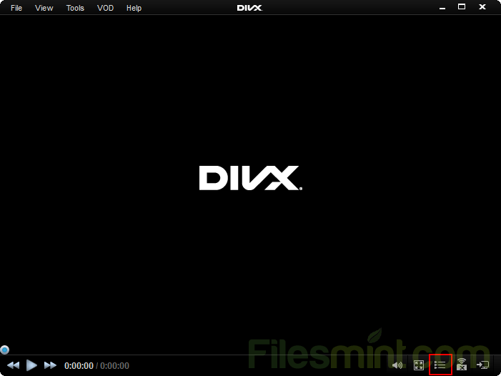 DivX Screenshot