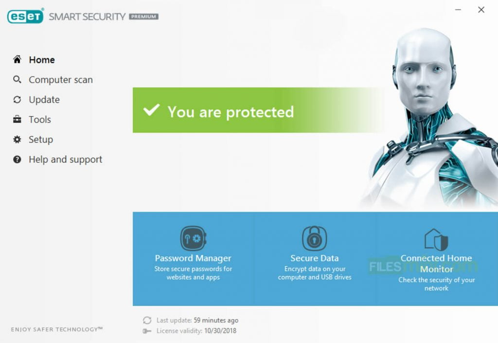 ESET Smart Security Premium Screenshot