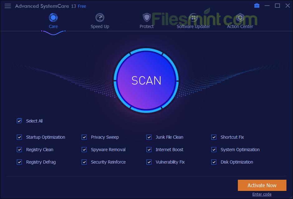 Advanced SystemCare Screenshot