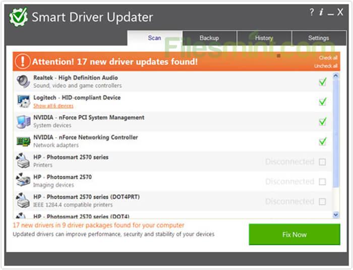 Smart Driver Updater Screenshot