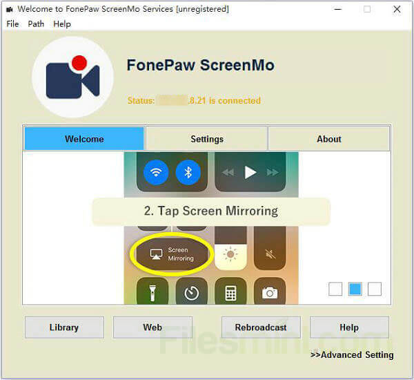 FonePaw ScreenMo Screenshot