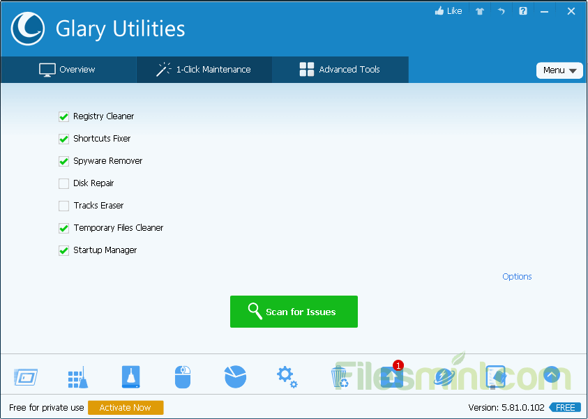 Glary Utilities Free Screenshot