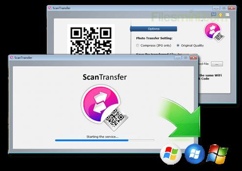 ScanTransfer Screenshot