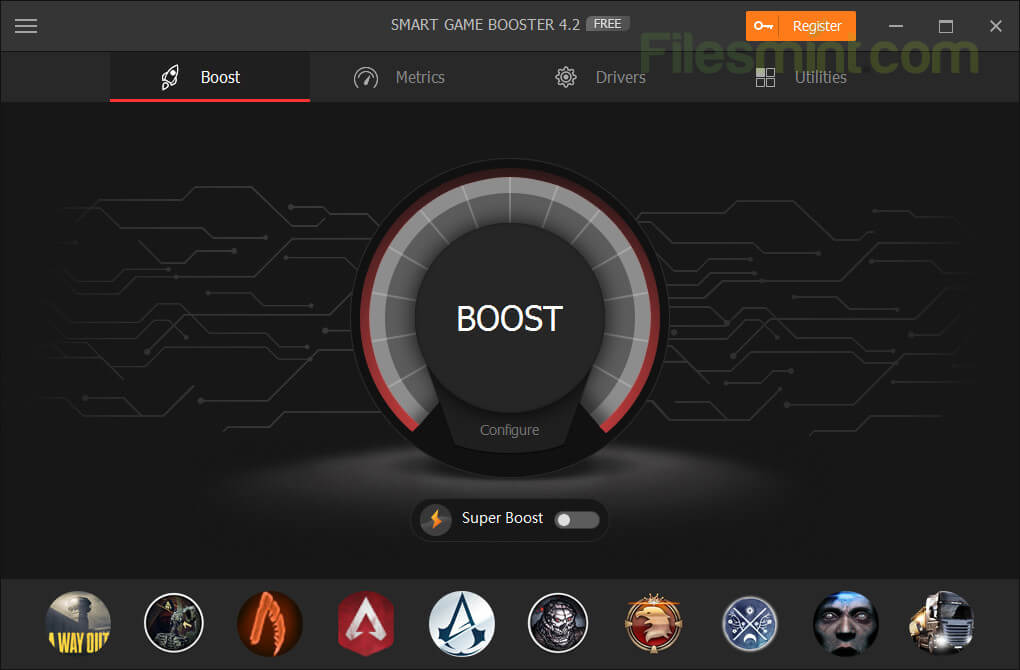 Smart Game Booster Screenshot