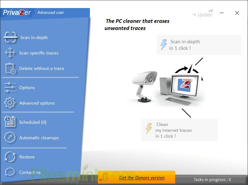 PrivaZer Screenshot