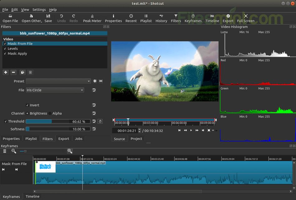 Shotcut Screenshot