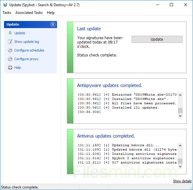 Spybot Search & Destroy Screenshot
